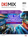 Majalah MIX Marketing & Communication: 100 TOP Corporate Communication Practitioners Indonesia 2019